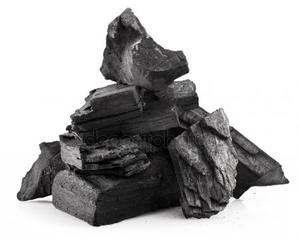 Древесный уголь в полипропиленовых мешках непросеянный 15-17кг