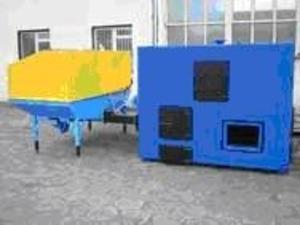 Котлы на твердом топливе (биомассе - опилки, солома и другие отходы)