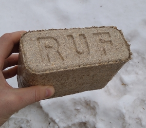 Продам топливный брикет RUF