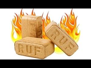 Производим Топливные брикеты RUF