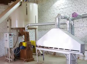 Оборудование для производсва топливных брикетов Pini kay