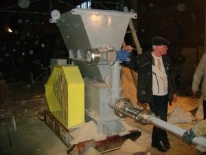 Пресс механический для производства биотоплива  АП-450