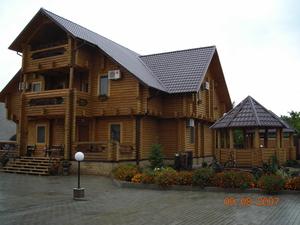 Деревяные дома из оцилиндрованого бруса